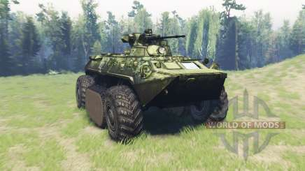 BTR 82A (GAZ-59034) hybrid for Spin Tires