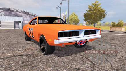Dodge Charger RT (XS29) 1970 General Lee for Farming Simulator 2013