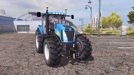 New Holland T8020 v2.0 for Farming Simulator 2013