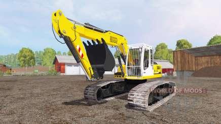 Liebherr A 900 C Litronic crawler for Farming Simulator 2015