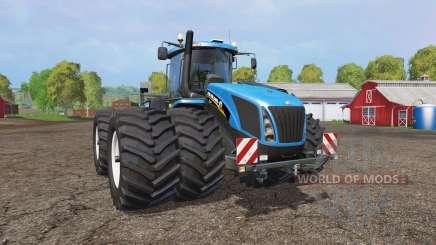 New Holland T9.565 twin wheels v1.2 for Farming Simulator 2015