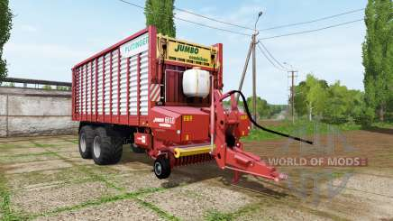 POTTINGER JUMBO 6610 combiline for Farming Simulator 2017
