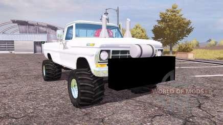 Ford F-100 1972 highboy for Farming Simulator 2013