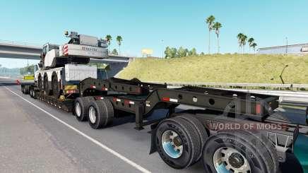 Fontaine Magnitude 55L Terex v1.1 for American Truck Simulator