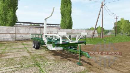 SIPMA self-loading bale trailer for Farming Simulator 2017