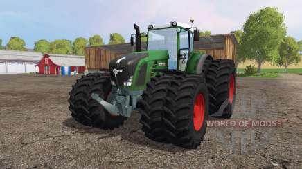 Fendt 936 Vario twin wheels for Farming Simulator 2015