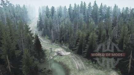Pine forest 2 for MudRunner