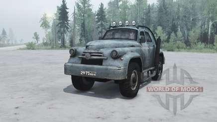 GAZ M 20 Pobeda custom for MudRunner