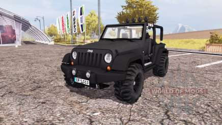 Jeep Wrangler (JK) v2.0 for Farming Simulator 2013