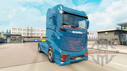 Scania R1000 concept v5.0 for Euro Truck Simulator 2