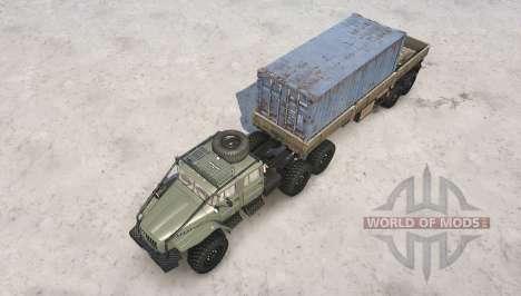 Ural 4320-1912-60 v1.1 for Spintires MudRunner
