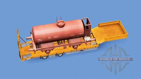 Railway cargo pack v1.8 for Euro Truck Simulator 2