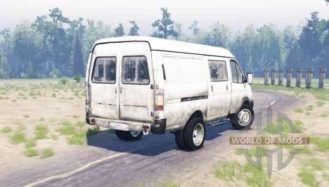 GAZ 2705 GAZelle for Spin Tires