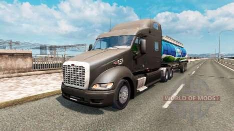 American truck traffic pack v1.4 for Euro Truck Simulator 2
