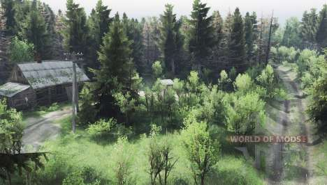 Russian forest v2.0 for Spin Tires