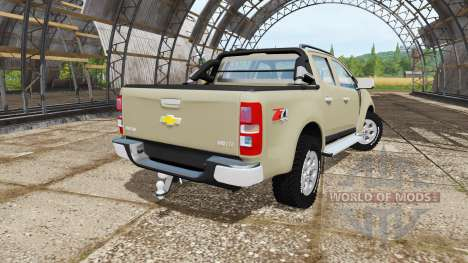 Chevrolet S-10 Double Cab 2014 for Farming Simulator 2017