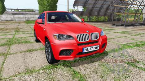 BMW X6 M (E71) for Farming Simulator 2017