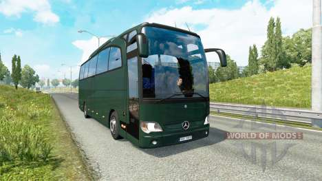 Bus traffic v1.8.1 for Euro Truck Simulator 2