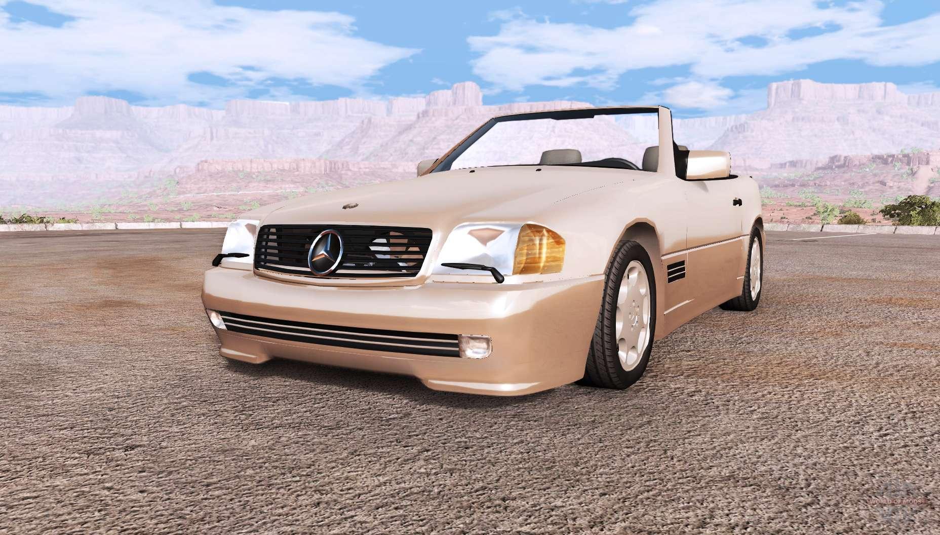 mercedes benz 500 sl r129 for beamng drive. Black Bedroom Furniture Sets. Home Design Ideas