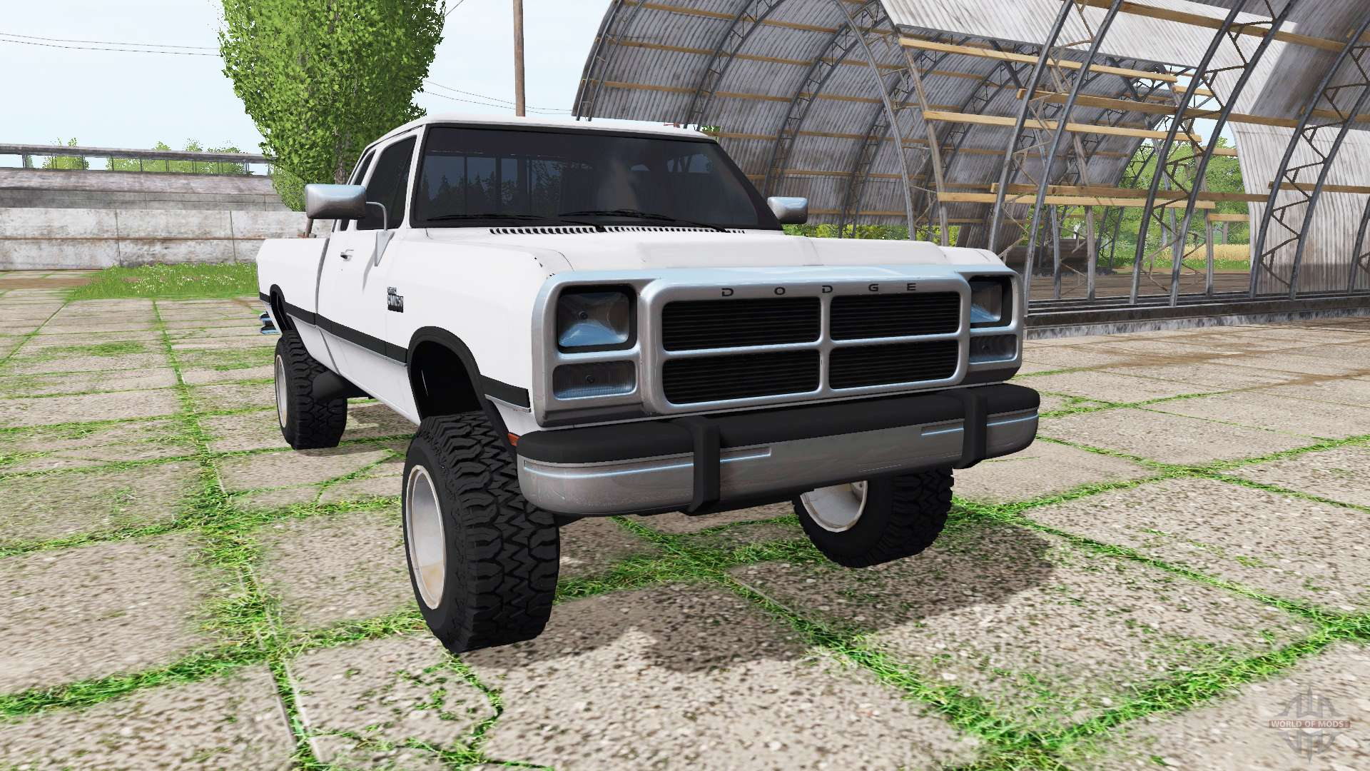Dodge Ram D250 Club Cab for Farming Simulator 2017
