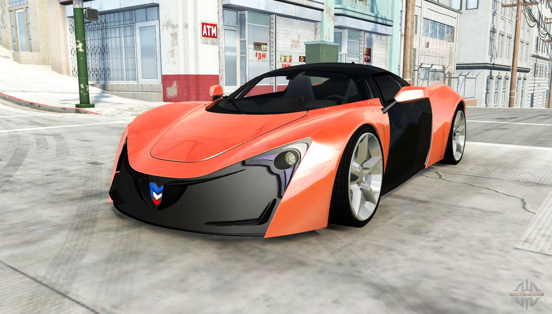 Marussia B2 for BeamNG Drive