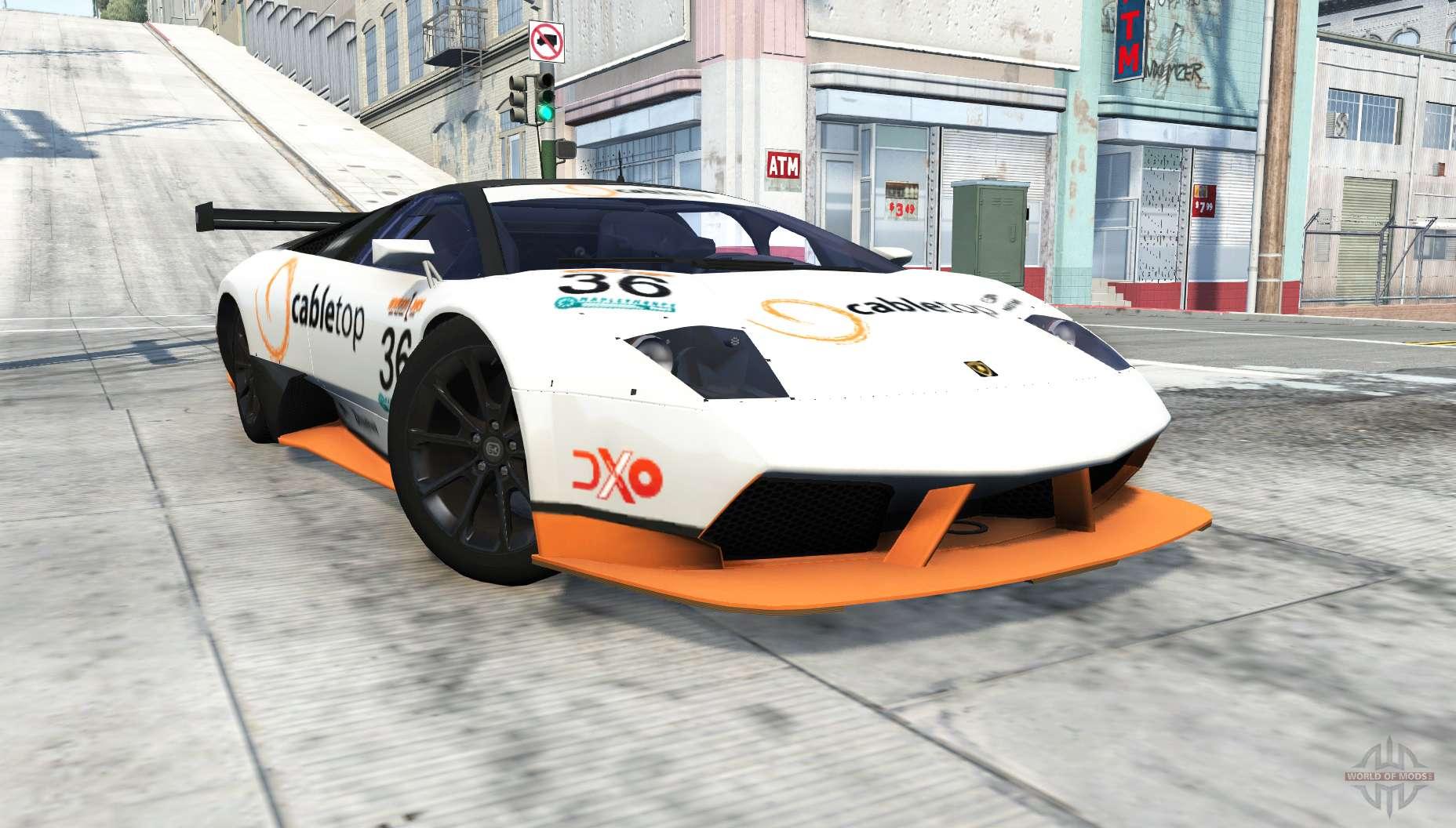 Lamborghini Murcielago R Sv Gt1 For Beamng Drive