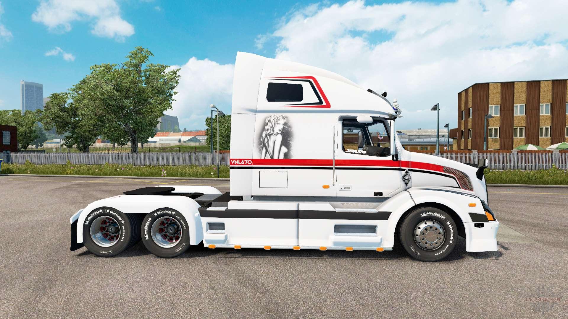 Volvo VNL 670 v1.5.1 for Euro Truck Simulator 2