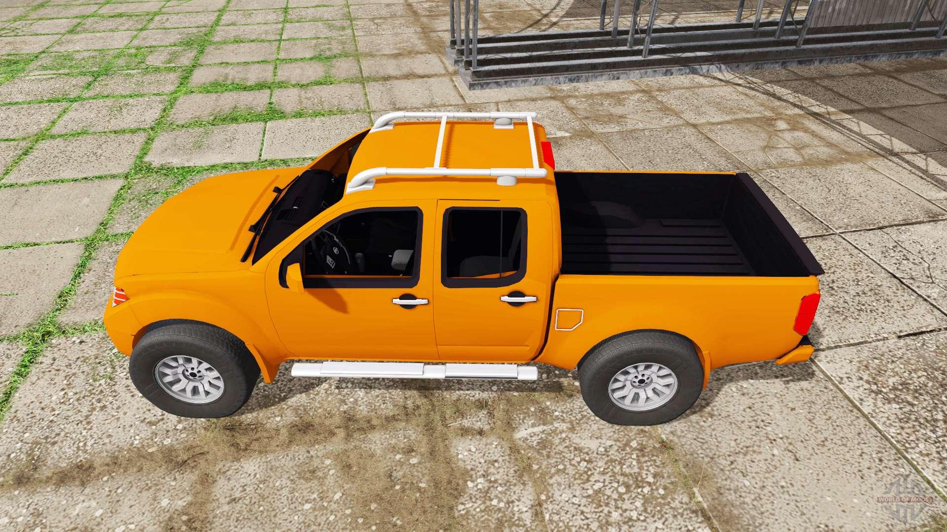 Nissan Frontier Pro 4x Crew Cab D40 2012 For Farming