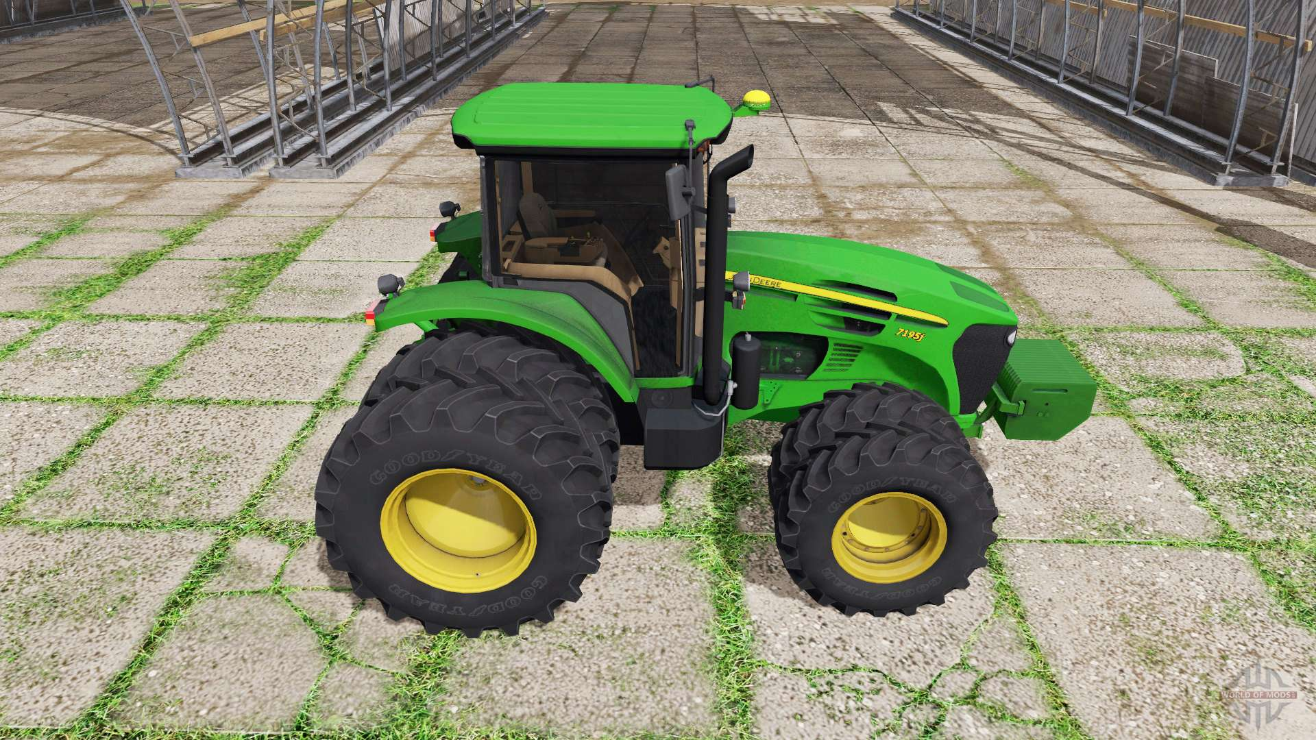 Tractor Simulator 2 : John deere j for farming simulator