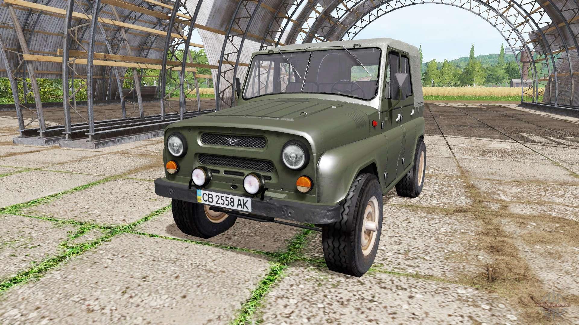 UAZ truck tractor 32
