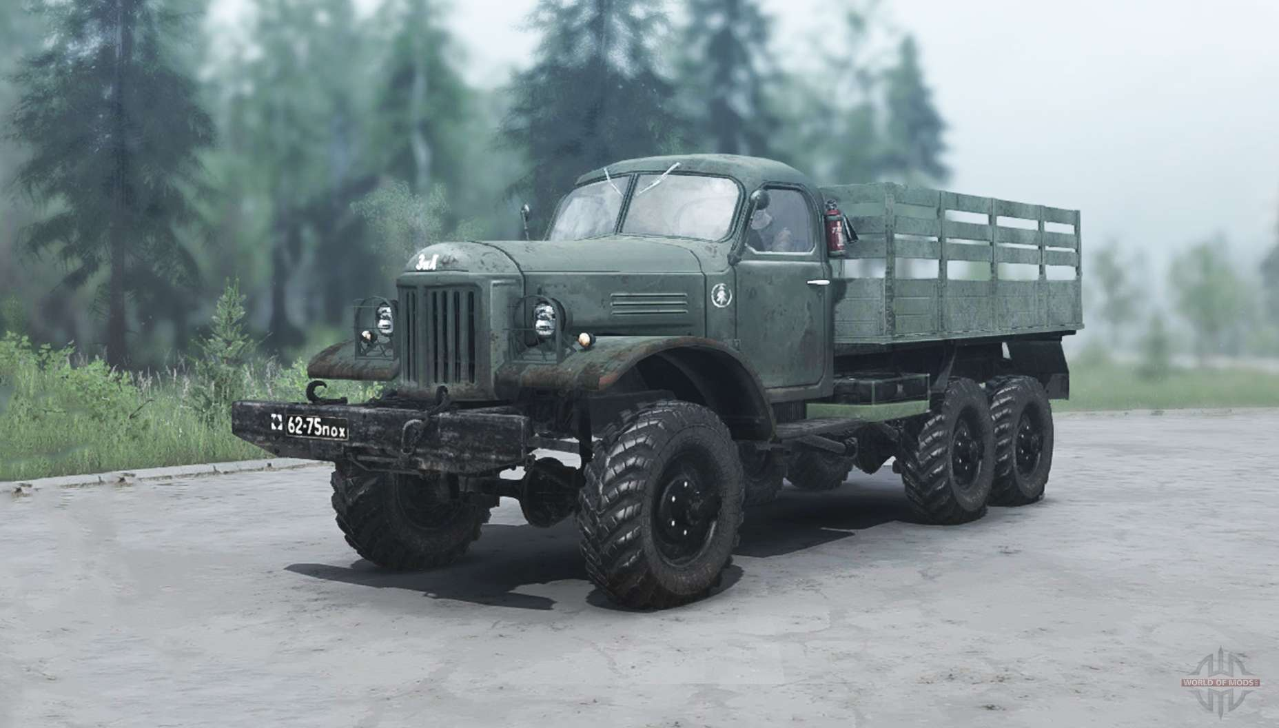 Drive A Tank >> ZIL 157 for MudRunner