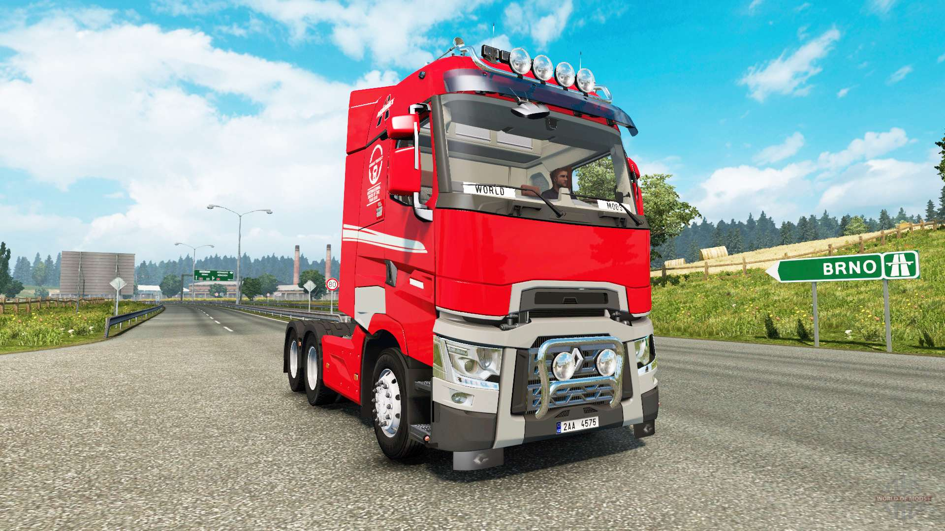renault t v6 2 for euro truck simulator 2. Black Bedroom Furniture Sets. Home Design Ideas