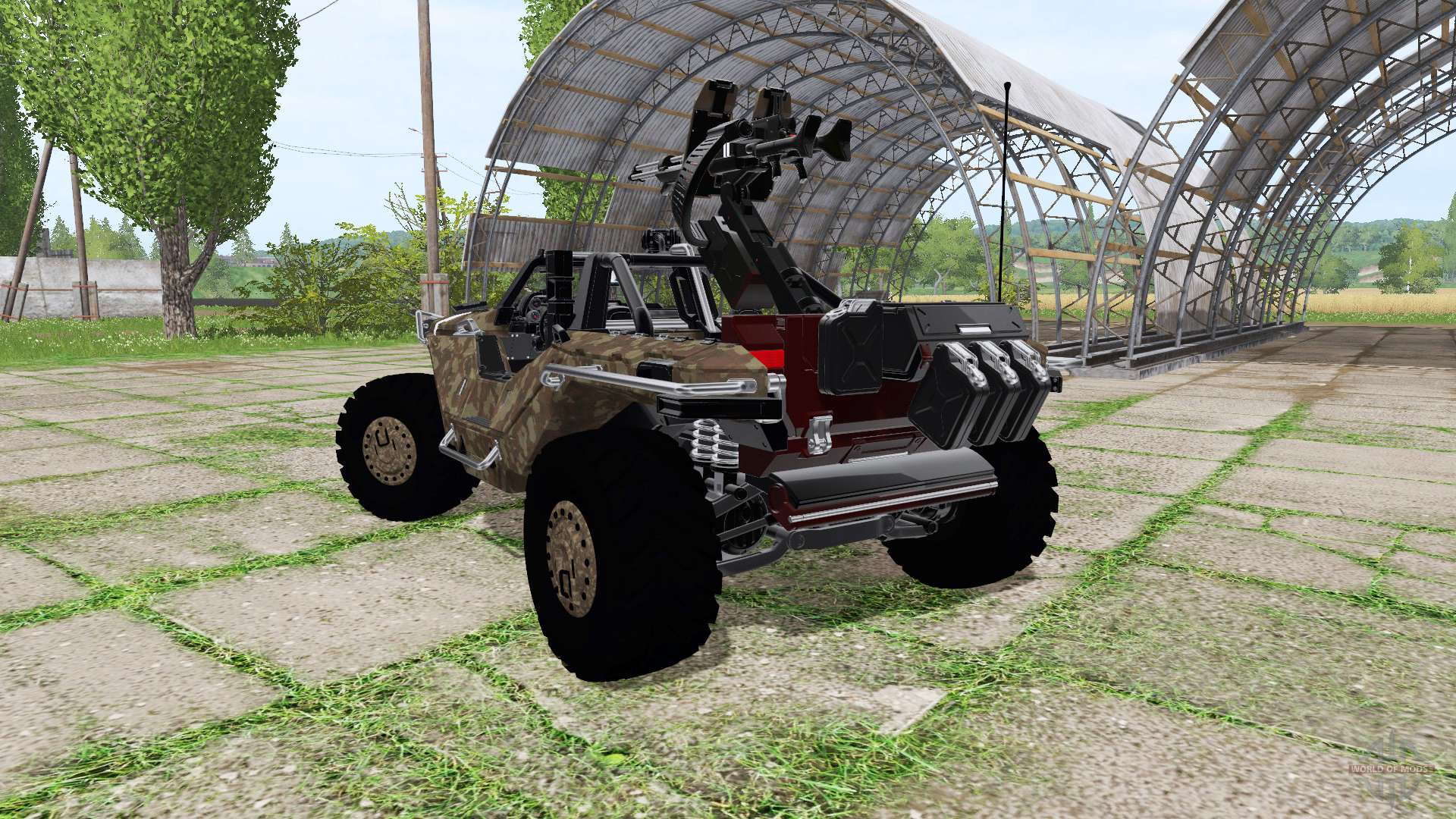 All terrain vehicle games