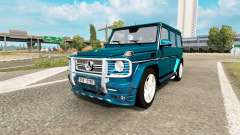 Mercedes-Benz G 65 AMG (W463) for Euro Truck Simulator 2