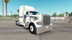 Skin Black Lining on the truck Peterbilt 389 for American Truck Simulator