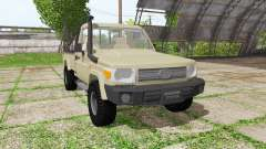 Toyota Land Cruiser Cab Chassis (J79) v1.3.1 for Farming Simulator 2017