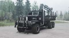 KrAZ 255 B1 Crocodile for MudRunner