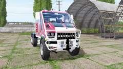 Bremach T-Rex Double Cab marins-pompiers for Farming Simulator 2017