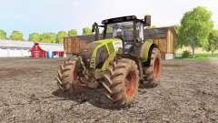 CLAAS Axion 820 front loader for Farming Simulator 2015