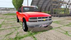 Chevrolet S-10 Regular Cab for Farming Simulator 2017
