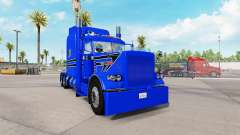 Skin Blue Gun for the truck Peterbilt 389 for American Truck Simulator