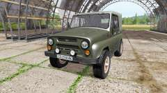 UAZ 469 v1.2 for Farming Simulator 2017