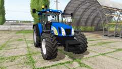 New Holland T5070 v2.0 for Farming Simulator 2017