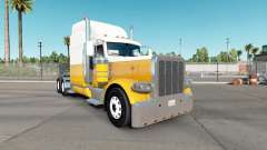 Skin Cream Gold for the truck Peterbilt 389