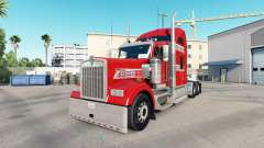 Skin is One of One of the truck Kenworth W900 for American Truck Simulator