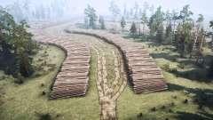 Forest game for MudRunner