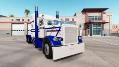 Rollin White skin for the truck Peterbilt 389 for American Truck Simulator
