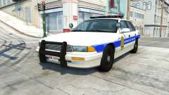 Gavril Grand Marshall honolulu police v1.03 for BeamNG Drive