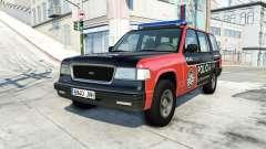 Gavril Roamer spanish police v3.6 for BeamNG Drive