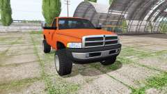 Dodge Ram 2500 Regular Cab 1994 v3.0 for Farming Simulator 2017